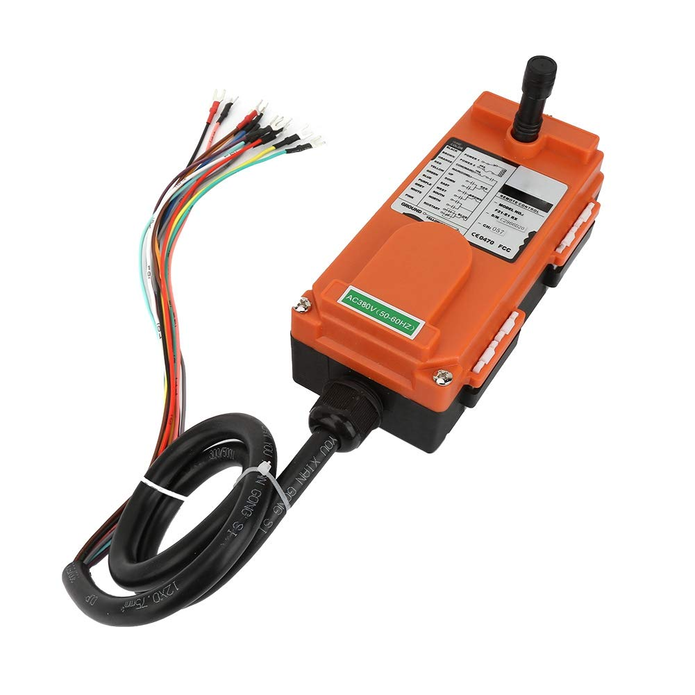 Kabellose Fernbedienung elektrische Hebemaschine bis zu 100 Meter IP65 2 Sender 1 Empf/änger 380V