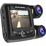 Dash cam, EACHPAI X9 Car Dash Cam Dual FHD 1080P 170 Degree Wide Angle Lens Super Capacitor Recorder G-Sensor,Motion…