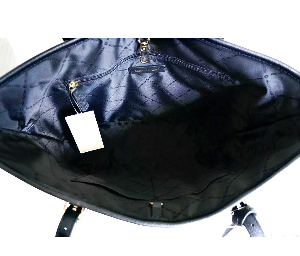 Michael Kors Jet Set Medium Carryall Tote Bag Purse Black by Michael Kors