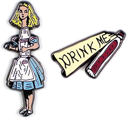 Alice Hard Enamel Pin