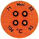 Wahl Instruments 443-071C Round Mini Four Position IC Batch/Vacuum Chamber Temp-Plate, 71, 82, 93 and 104 degrees C (Pack of 10)