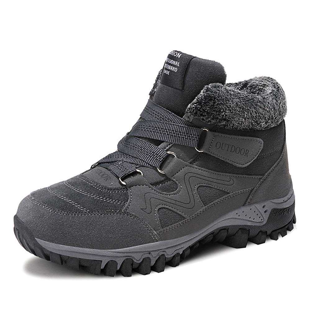 Damen Turnschuhe High-Top Baumwolle Schuhe Baumwolle Schuhe Winter Plus Samt Laufschuhe (Farbe   C Größe   41)