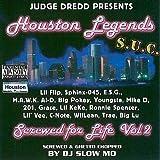 Houston Legends Screwed 4 Life Vol.2