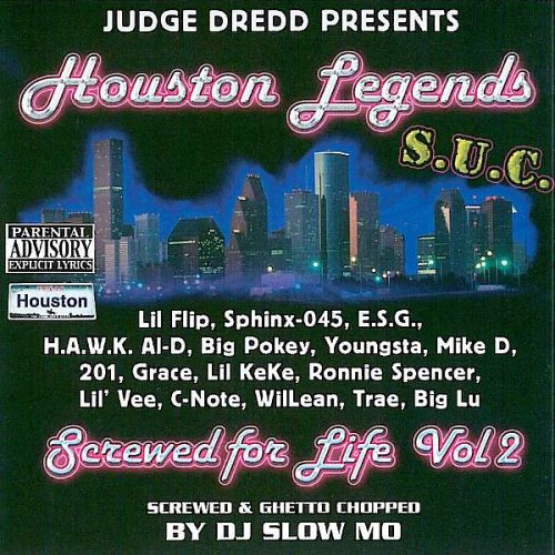 Houston Legends Screwed 4 Life Vol.2