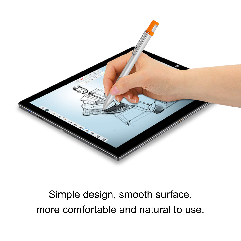 4096 Niveles de sensibilidad a la presi/ón Surface Studio Etc Compatible con Surface Pro//Laptop Series CHUWI HiPen H6 Touch Stylus para tabletas Plateado
