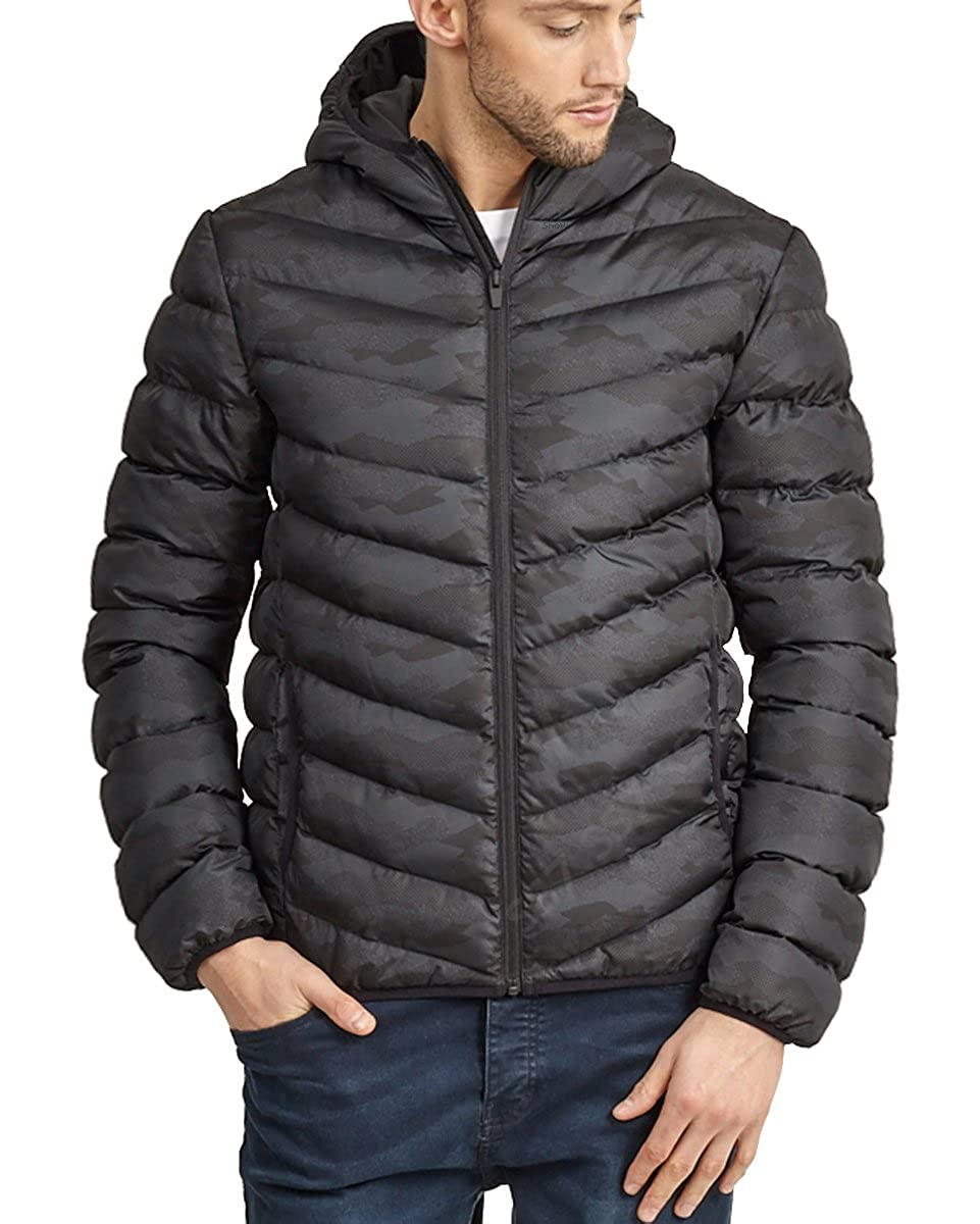 SS7 Boys Shower Proof Junior Puffer Padded Coat, Black, Ages 7 To 13 Ages 7 To 13 (Age 7/8 Years Black)