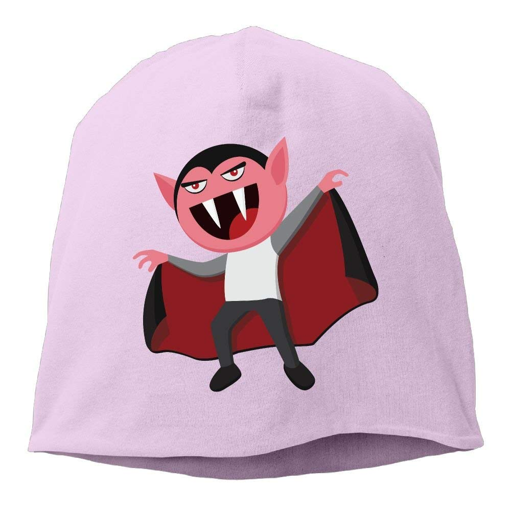 GONIESA Cartoon Vampire Man Beanies Caps Skull Hats Unisex Soft Cotton Warm Hedging cap,One Size