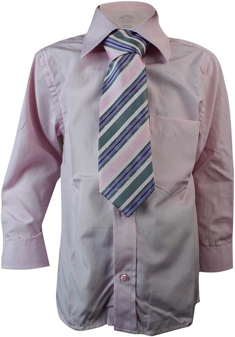 The Gorgeous 1 Niños Niño Camisa con entsprechender Corbata Rosa 1 ...