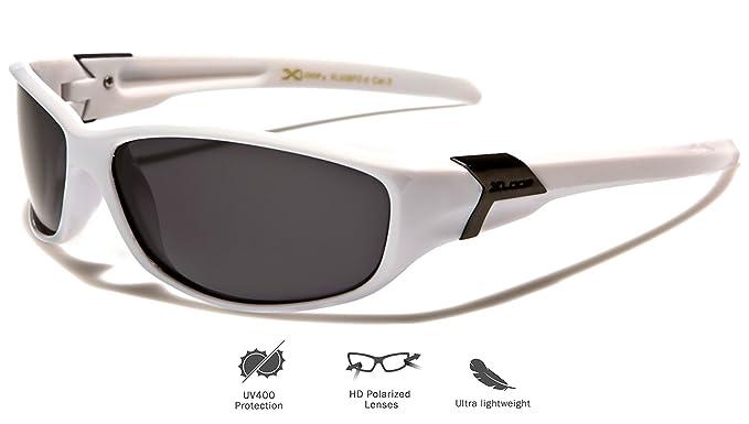 Gafas de sol depostivas de X-Loop, polarizadas, talla única para adultos, protección UV400, para hacer deportes como ciclismo, esquí, snowboard, ...