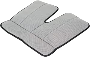Dr. Air Seat Cushion - Non-Slip Orthopedic Support Cushion - Comfort, Back, Sciatica, Coccyx and Tailbone Pain (Grey)