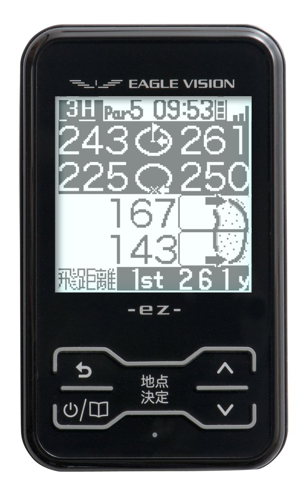 ASAHI GOLF(朝日ゴルフ用品) 距離測定器 イーグルビジョン イージー EV-11  ブラック B007440BB8