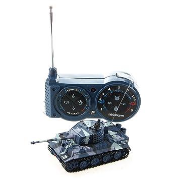 Vehicule Char Sodial Enfant Mini Jouet Telecommande Rc r1 Miniature Tank 72 Assaut fb6y7g