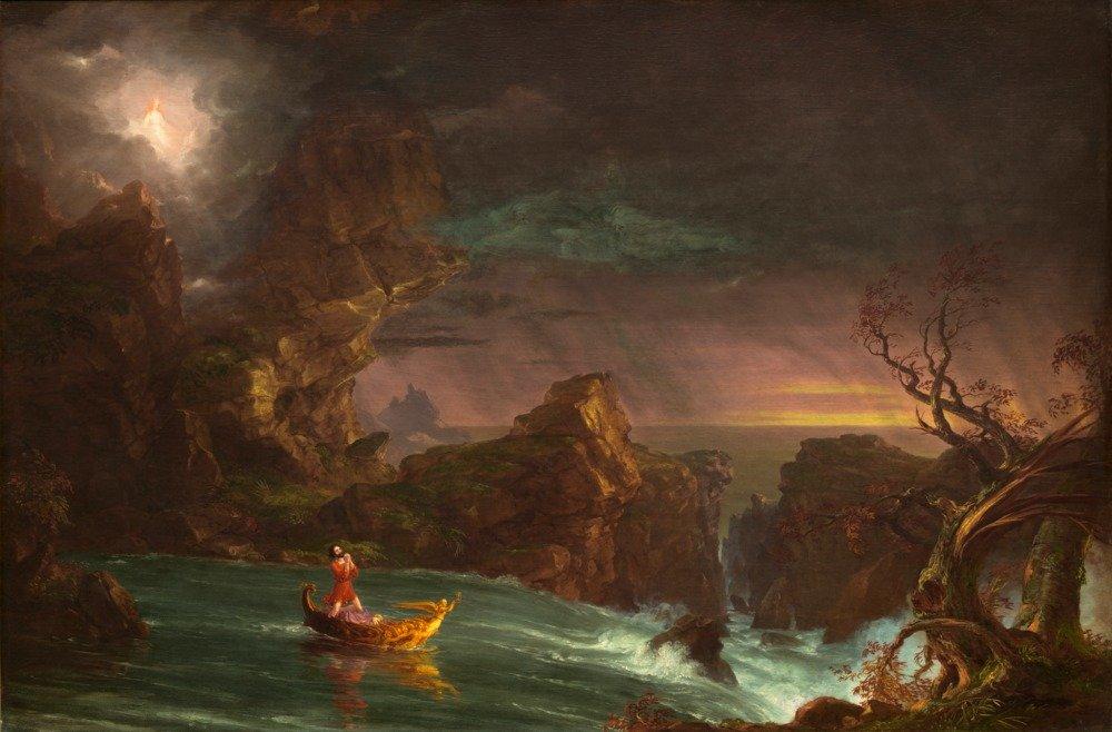 The Voyage of Life : Manhood – 傑作クラシック – アーティスト: Thomas Cole C。1842 36 x 54 Giclee Print LANT-57883-36x54 36 x 54 Giclee Print  B01M70A3AZ