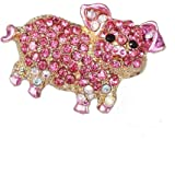 Comelyjewel Exquisite Cartoon Pig Brooch Pins Jewelry Clothes Bags Backpacks Capel Jacket Badge Accessories Durable and Practical
