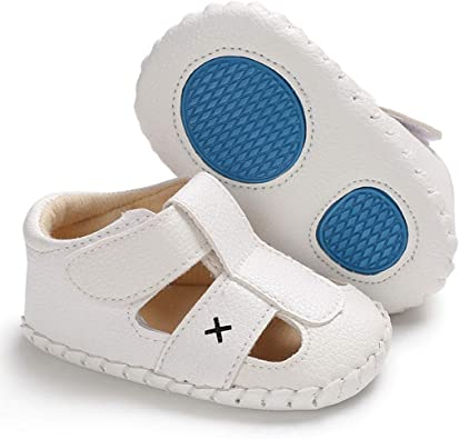 Baby Girl Boy Infant Shoes Toddler PU