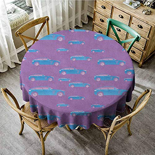 Charcoal Tinted Windows - Banquet Round Tablecloth 60