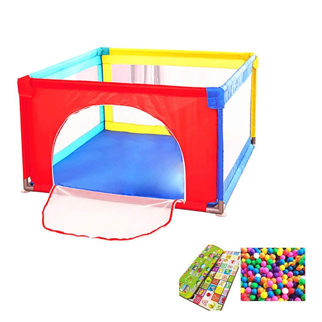 即日発送 屋内世帯の赤ん坊のゲームの滑走路の運動場の幼児子供の安全反落下の塀のおもちゃの家およびマット B07MKL7Y3Q 100×100cm) (サイズ 100×100cm さいず : 100×100cm) 100×100cm B07MKL7Y3Q, ミカモソン:87e8d5cd --- a0267596.xsph.ru