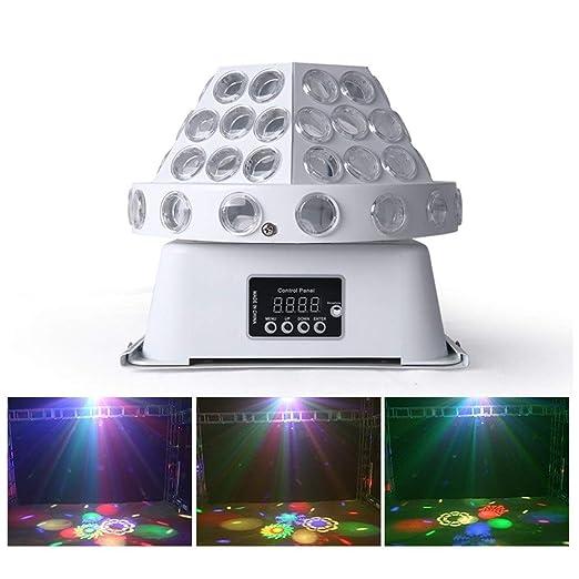 Luces de Fiesta Disco Stage con 4 Lentes, 8 proyectores de Modo ...