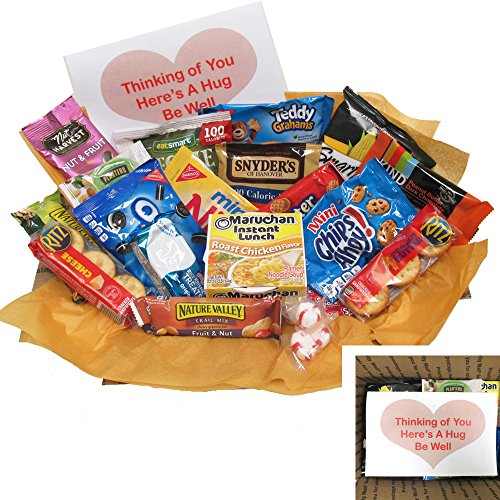 Care Package Get Well Soon: Send Get Well Wishes to Anyone who Needs to Feel Better
