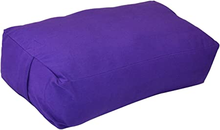 side facing yogaaccessories supportive rectangular cotton yoga Bolster
