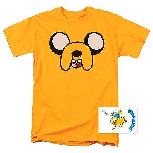 dc271eead5c Amazon.com  Adventure Time Jake The Dog Cartoon Network T Shirt ...