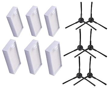 Sweet D Kit de recambios para Robotic Aspiradoras de ILIFE V3s V5 V5s Pro - 6