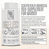 RAW-Synergies-Ageless-Kiss-Anti-Aging-Cognitive-Metabolism-Booster-for-Weight-Loss-Natural-Energy-and-Brain-Support-Fat-Burner-Supplement-for-Women-Stress-Relief-and-Cortisol-Manager-60-Vcaps