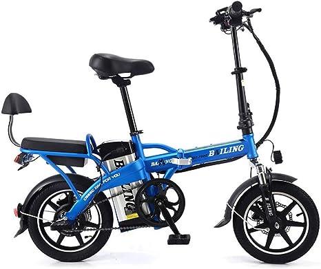 Liu Yu·casa creativa 350W Bicicleta Eléctrica Plegable Montaña ...