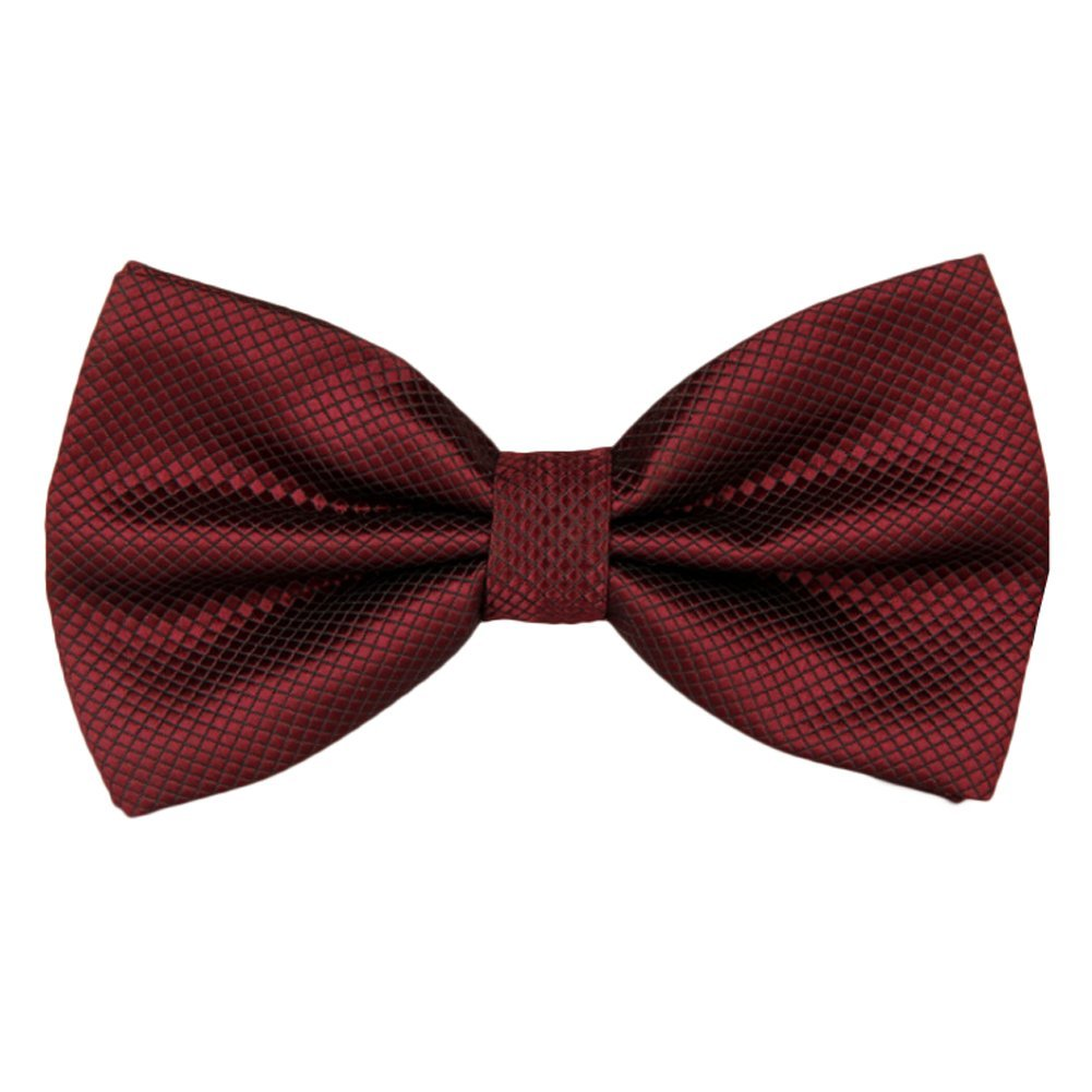 Startby Men's Classic Grid Bow Ties Pre Tied