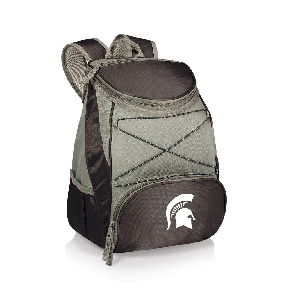 PTX Backpack Cooler, a Picnic Time brand Michigan State Spartans ONIVA Black with Gray Accents