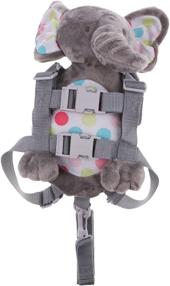 as described Baby Kids Anti-Lost Strap Plush Walking Belt Safety Harness Leash Backpack Elephant