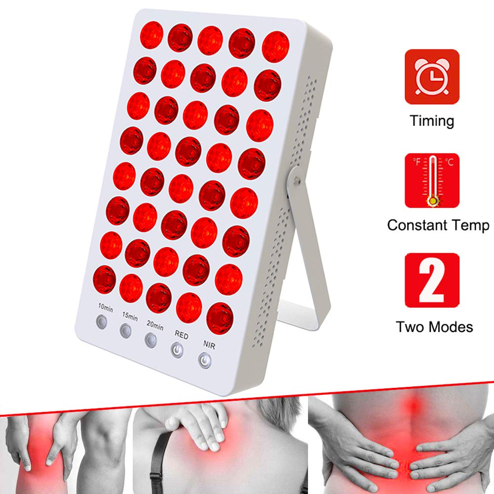 Hi-Sdard Red Light Therapy 660nm 850nm 200W Red Light Therapy Lamp for Back Pain, Muscle Pain, Joint Pain, Neck Pain, Shoulder Pain