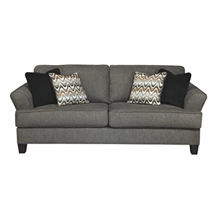 Amazon Com Benchcraft Gayler Contemporary Living Room Sofa 4