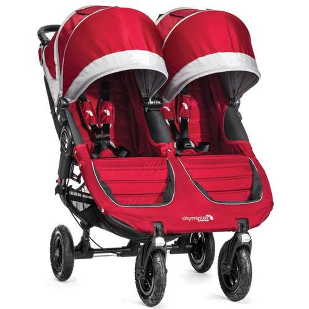 Baby Jogger 2014 City Mini GT Double Stroller, Crimson/Gray by Baby Jogger