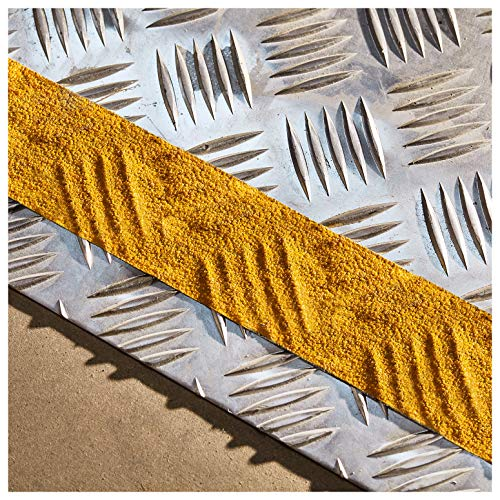 (NAC INDUSTRIAL Anti Slip Tape - NAC Safety SELF Adaptive - Strong Self Adaptive Adhesive Non Slip Grip for Patterned and Irregular Surfaces - Various Sizes & Colours (2