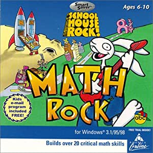 amazoncom schoolhouse rock math rock jewel case