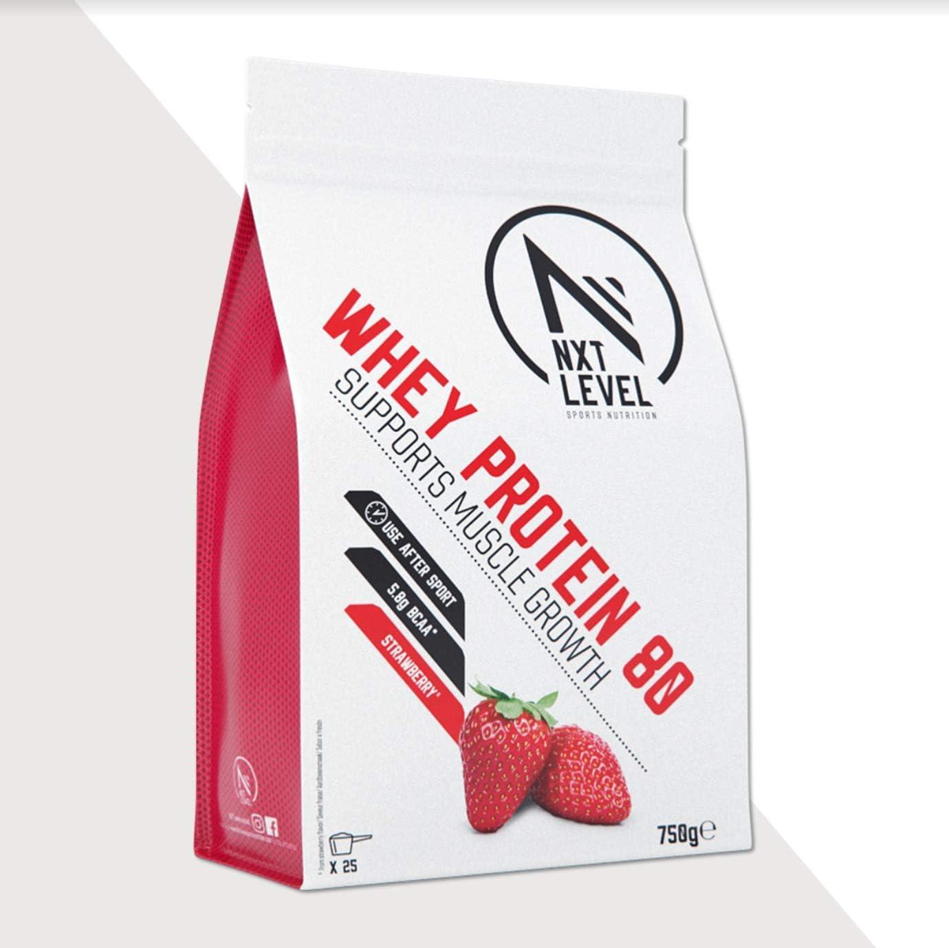 NXT Level Whey Protein 80 - Fresa 750 g