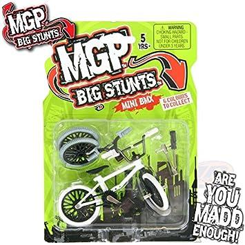 Mgp Big Stunts Mini Finger Bmx Bike White Toys