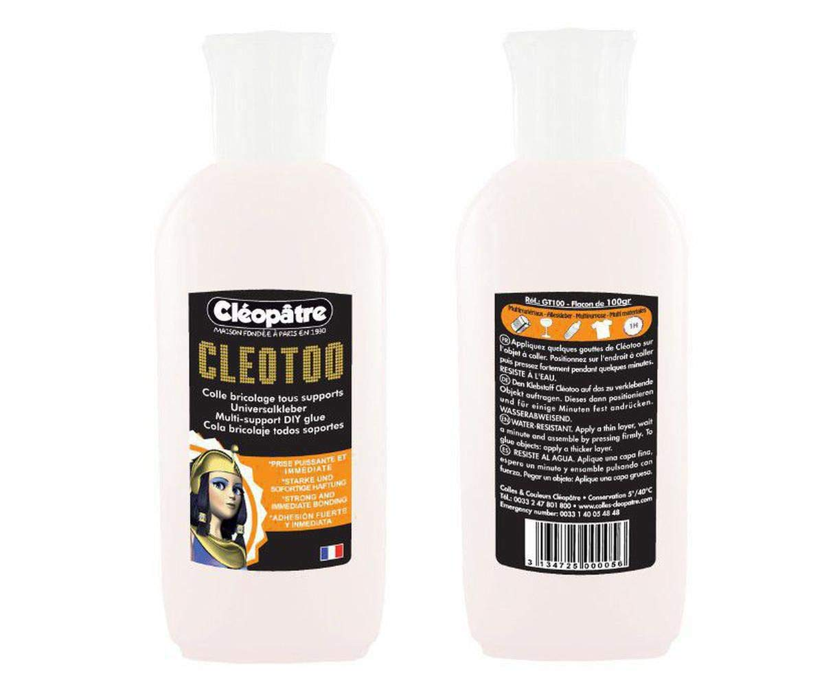 Glue On Non-Porous Materials Cleotoo 100g, CL_GT100