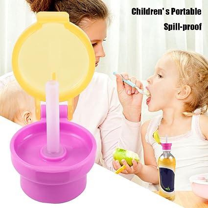 Botella de agua portátil para niños a prueba de derrames ...