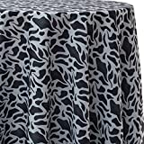Ultimate Textile Raccoon Animal Print 72 x 120-Inch Oval Patterned Tablecloth