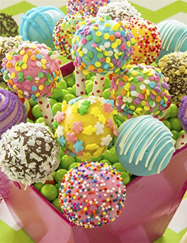 Springbok Children's Jigsaw Puzzles - Cake Pops - 100 Piece Jigsaw Puzzle - Large 13.5 Inches by 18.875 Inches Puzzle - Made in USA - Extra Large Easy Grip Pieces