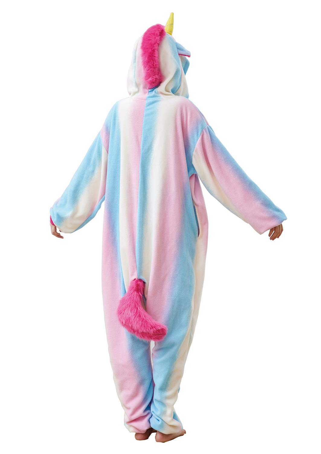 Unisex Adult Cute Animal Pajamas Onesies,One-Piece Cosplay Costume Jumpsuit Outfit XL by Mybei (Image #4)