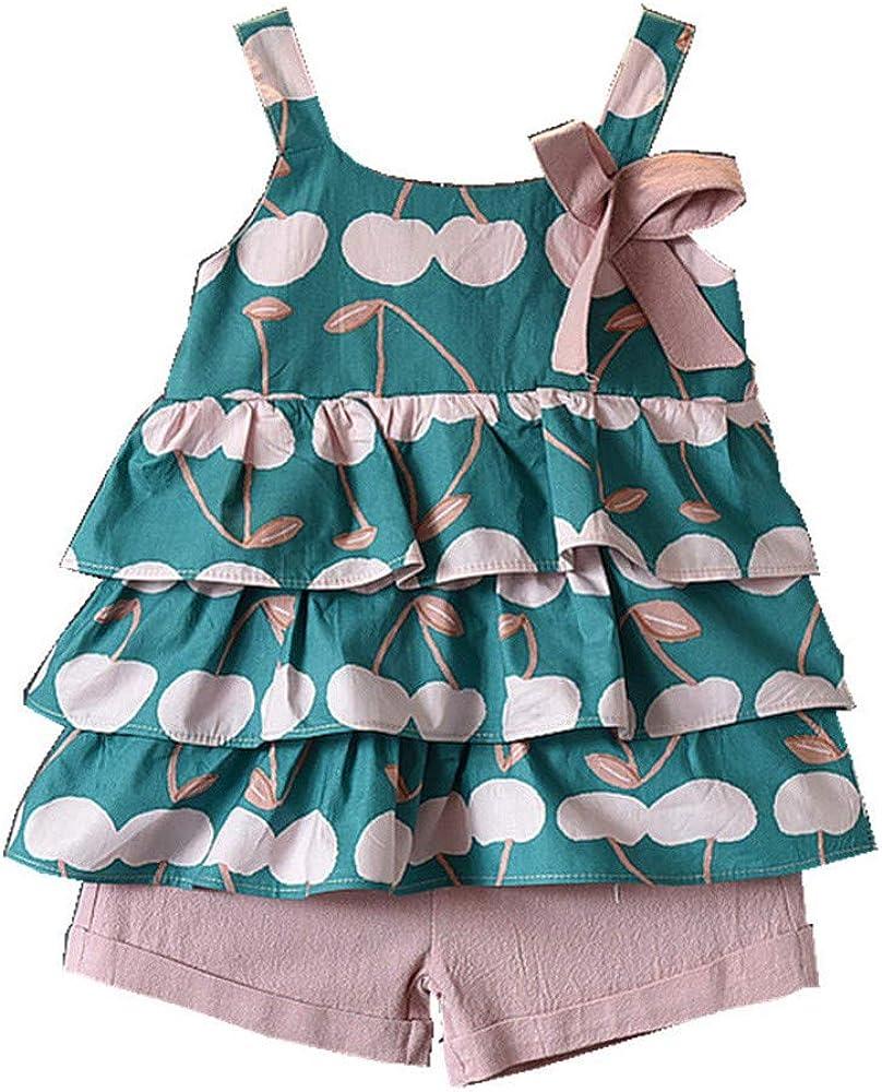 Ropa Bebe Niña de 1 a 6 años, K-Youth Conjunto de Pantalones ...