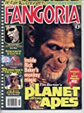 Fangoria Magazine 205 PLANET OF THE APES Jeepers Creepers JURASSIC PARK III Session 9 GHOSTS OF MARS August 2001 C