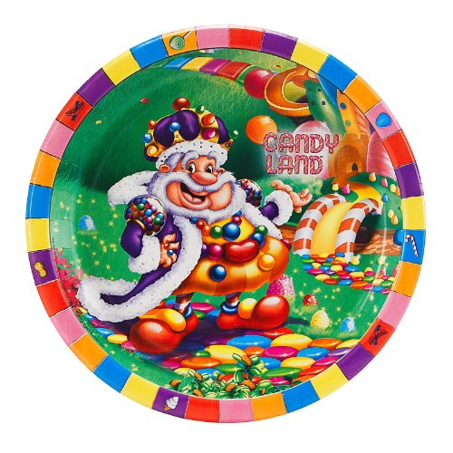 Candy Land Dinner Plates (8)