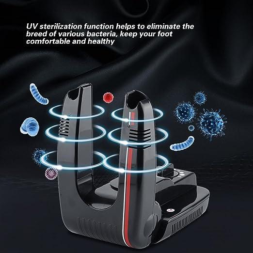 Amazon.com: Haofy Shoe Dryer Warmer, Electric Shoe Boot Socks Timing Dryer Warmer UV Sterilization Deodorant Device 110V US Plug(#1): Clothing