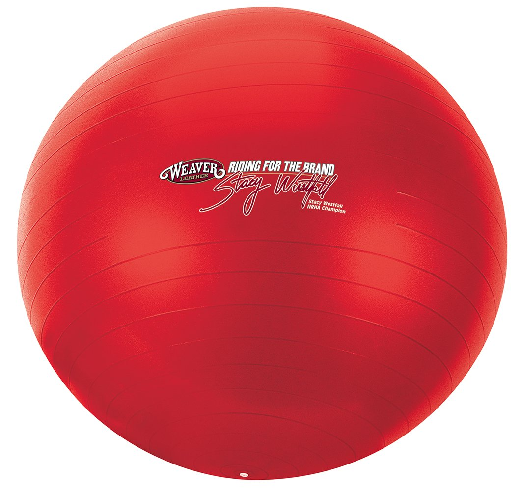 Weaver Leather Stacy Westfall Activity Ball, Large, Red by Weaver Leather