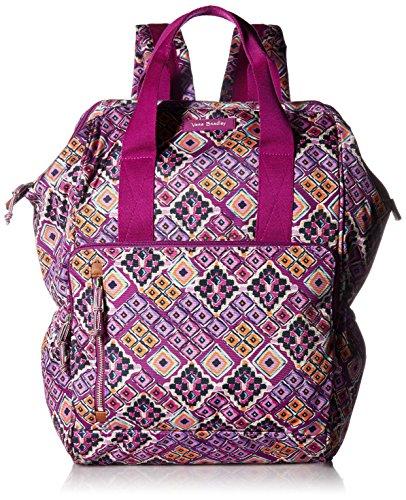 Vera Bradley Lighten Up Frame Backpack, Polyester, Dream ()