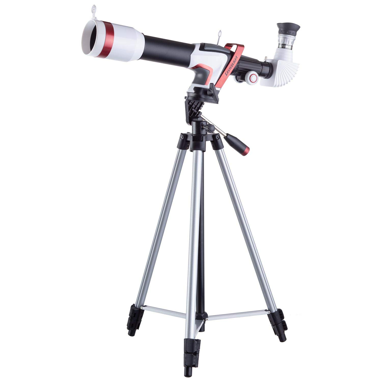 IQCrew AK-8003 375 Power 50mm Telescope with Aluminum Tripod + Smartphone Adapter